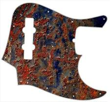 J Jazz Bass Pickguard Custom Fender Graphic Graphical Guitar Bubbling Metal