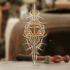 Beetle pinstriping aircooled sticker decal bus bug splitscreen MOON copper