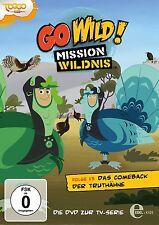 GO WILD!-MISSION WILDNIS -(15)DVD Z.TV-SERIE-DAS COMEBACK DER TRUTHÄHNE DVD NEU