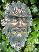 NEW RUBBER LATEX MOULD MOULDS MOLD PAGAN WICCAN GREENMAN GREEN MAN WALL PLAQUE 3
