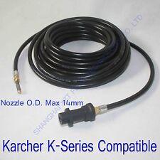 Karcher pressure washer Compatible drain hose 25FT/7.5m(A13),sewer jetter hose