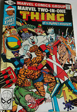 MARVEL TWO IN ONE 74 ( Marvel ) 1981 Thing & PuppetMaster, Vends COMICS A 2 €