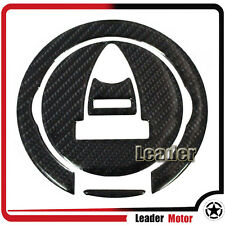 For MONSTER 796 Carbon Fiber Tank Gas Cap Pad Filler Cover Sticker Decals
