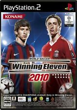 Used PS2 World Soccer Winning Eleven 2010 Import Japan
