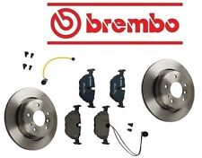 BMW E34 540i 1994-1995 Complete Rear Brake Rotors With Pads And Sensor Premium