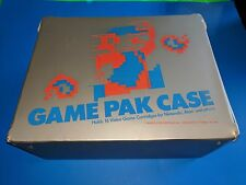 Game Pak Case for Nintendo NES Vintage Mario Video Game Carrying Suitcase