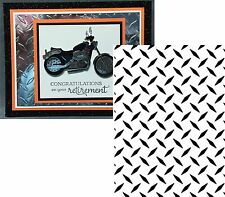 Embossing Folders DIAMOND PLATE PATTERN 1218-101 DARICE All Occasion Fathers Day