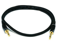 3ft Premier Series 1/4inch TS or Mono Phono Male to Male 16AWG Audio Cable 5495