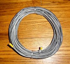 "100 ft x 3/32"" Black&White Shock Cord (bungee) Dac.cover(Perfect for tent poles)"