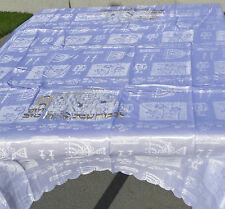 SHABBAT TABLECLOTH Israel Judaica Jewish Sabbath 400 X 145 CM Jewish Israel Gift