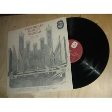 ANDRE ISOIR cinq siècles d'orgue français FRENCH PIPE ORGAN CALIOPEE Lp 1973
