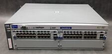 HP Procurve Switch J4887A w/ 2 HP J4908A Gigabit Switch Modules