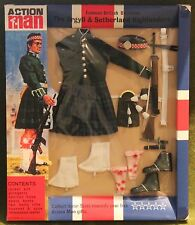 vintage action man 40th anniversary argyll highlander uniform card boxed