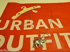 NWT !! Urban Outfitters   Elephant   Pendant  Necklace  Great gift!