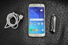 SAMSUNG GALAXY S6 32GB WHITE UNLOCKED SM-G920P ✅ CLEAN ESN ✅ FAST SHIPPING
