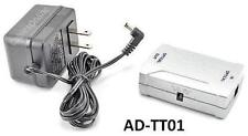 Optical Toslink Digital Audio Booster / Amplifier with AC Power Adapter AD-TT01