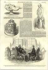 1853 Dublin Industrial Exhibition Plan Mr Roney Interview Prince Pres France