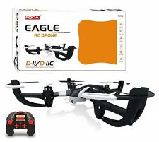 Eagle d-11 Radio Controllato Drone 2.4ghz 6-axis Quadcopter in Nero/Bianco