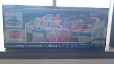 Maxim 38390 50‑Piece Train Set with 2‑in‑1 Activity Table