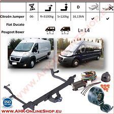 Gancio traino Citroen Jumper / Peugeot Boxer L=L4 2006- +elettrico 7-poli
