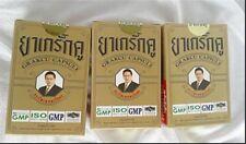 5 BOXES THAI HERBAL GRAKCU CAPSULE SEX MEN GOOD HEALTHY MAX STRENGTH 6 CAPUSAL