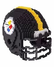NFL Pittsburgh Steelers BRXLZ Team Helmet 3-D Puzzle Construction Toy New