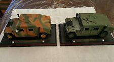 1:18 SCALE MODERN HUMVEE CAMO AND GREEN COLOR MAISTO