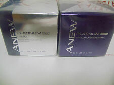 Avon Anew Platinum Day & Night Cream NIB Full Size Free Shipping in the USA