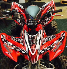 Graphics for Honda TRX 400 EX 400EX 2008 -2015 decals NO2500 Red