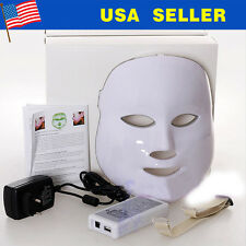 3 Colors LED Facial Mask Skin Rejuvenation Light Therapy Photodynamics Machine