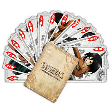 Anime Attack on Titan 54pcs Playing Card Deck Poker