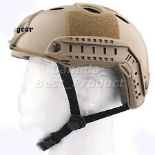 Tactical Airsoft Paintball Low Price Emerson Fast Style PJ Helmet DE Tan he41