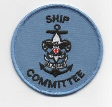 """Sea Scout Ship Committee Position (New Design), 3"""" Round, """"Since1910"""" Back"""