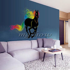 Horse Removable Family DIY Art Vinyl Wall Stickers Decal Mural Home Kids Room