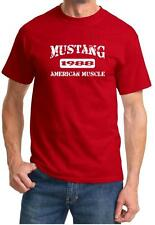 1988 Ford Mustang American Muscle Car Classic Design Tshirt NEW