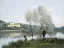 CAMILLE COROT FRENCH VILLE D'AVRAY OLD ART PAINTING POSTER PRINT BB5036A