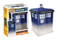 "EXCLUSIVE DOCTOR WHO MATERIALISING TARDIS 6"" POP VINYL FIGURE FUNKO"