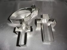 Fish Symbol, Cross, Cookie Cutter, Christian, Cookie Recipe, Fondant, Baking