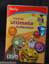 POPCAP ULTIMATE COLLECTION Includes Plants vs. Zombies +9 More Games New in Box