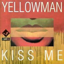 FREE US SH (int'l sh=$0-$3) USED,MINT CD Yellowman: Kiss Me