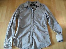 MAISON SCOTCH schöne Bluse grau Gr. 2 NEU  BI516
