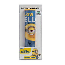 POWER BANK minions yellow bello celeste 2600mAh