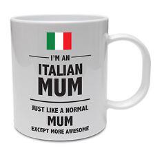 ITALIAN MUM - Italy / Mummy / Mother / Funny / Novelty / Gift Idea Ceramic Mug