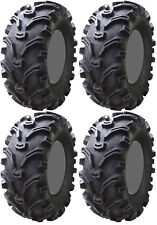 Four 4 Kenda Bearclaw ATV Tires Set 2 Front 23x7-10 & 2 Rear 23x10-10 K299