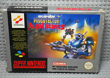 Super Probotector Alien Rebels - Super Nintendo SNES FAH - Boite & Notice