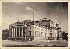BERLIN alte Postkarte Ansichtskarte Partie a.d. Staatsoper AK ungelaufen