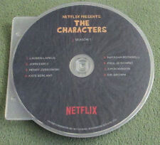 THE CHARACTERS~NETFLIX SKETCH COMEDY SERIES~COMPLETE SEASON 1~RARE 2016 FYC DVD