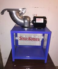 Snow cone machine commercial Shav A Doo Ice Shaver Model #1803