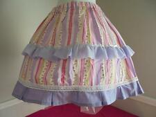 Crossdresser Sissy Lolita, Cosplay Style 4 Pc Outfit, Skirt,Hose,Crini,Bloomer