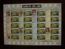 Great Britain 2005 LABEL SHEET  type LS26 - CLASSIC ITV  MNH.